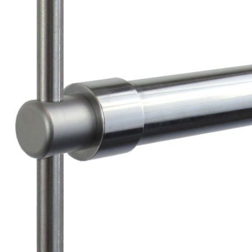 HR25R-3PC_Garment_Hanging_Rail_for_10mm_Rod_Suspensions