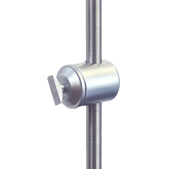 Single-Sided Support with Toggle for Aluminum Frames