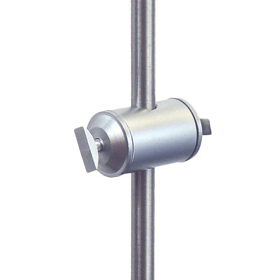 Double-Sided Support with Toggle for Aluminum Frames