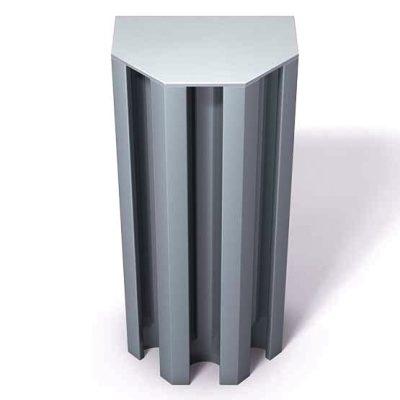 370-109-Aluminum-End-Cap