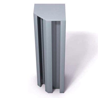 370-112-Aluminum-End-Cap