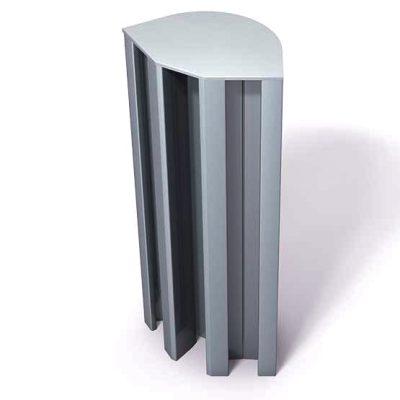 370-114-Aluminum-End-Cap