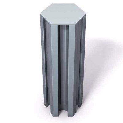 370-121-Aluminum-End-Cap