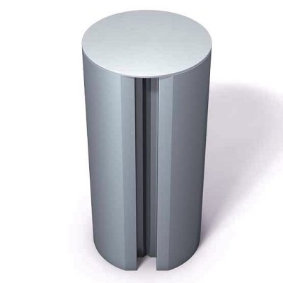370-133-Aluminum-End-Cap