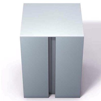 370-195-Aluminum-End-Cap