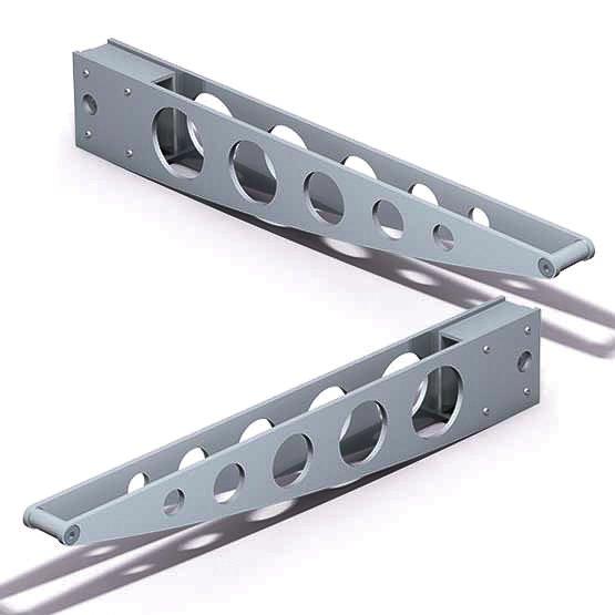 523-D01L-R-300mm-Shelf-Bracket-Set