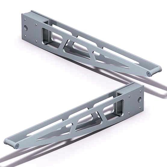 524-D01L-R-300mm-Shelf-Bracket-Set