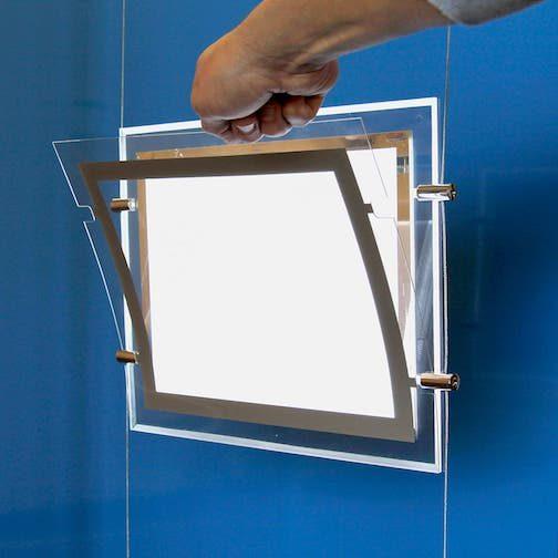 LP-8511L LED Light Pocket with Cable Clips – Landscape