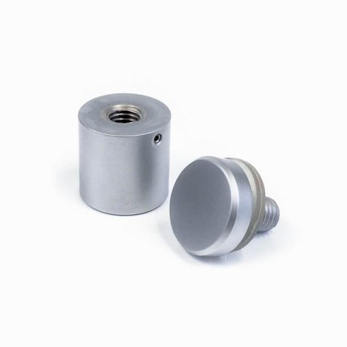 WSO2525-TP-M10-SC-satin-chrome-brass-tamper-proof-sign-standoff-front-cap