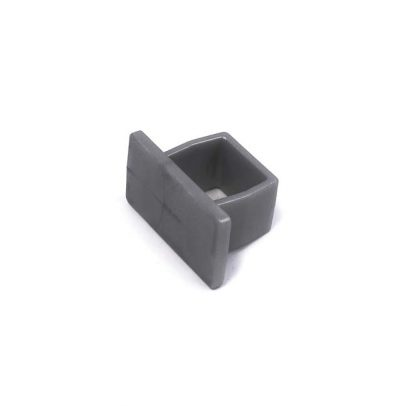 06-5485-S End-Cap for Easy Glide Track Silver