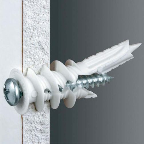 P75-TWL-Twist-N-Lock-75-lb-Self-Drilling-Drywall-Anchor-Install