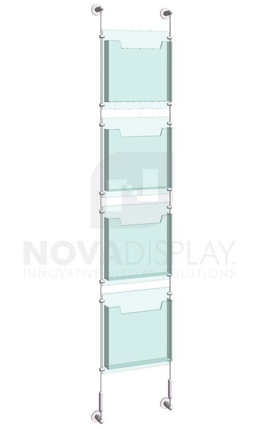 KLD-021_Acrylic-Literature-Display-Kit-cable-suspended