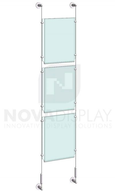 KPI-009_Easy-Access-Poster-Holder-Display-Kit-cable-suspended
