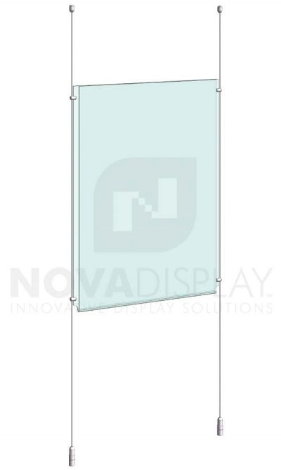 KPI-013_Easy-Access-Poster-Holder-Display-Kit-cable-suspended