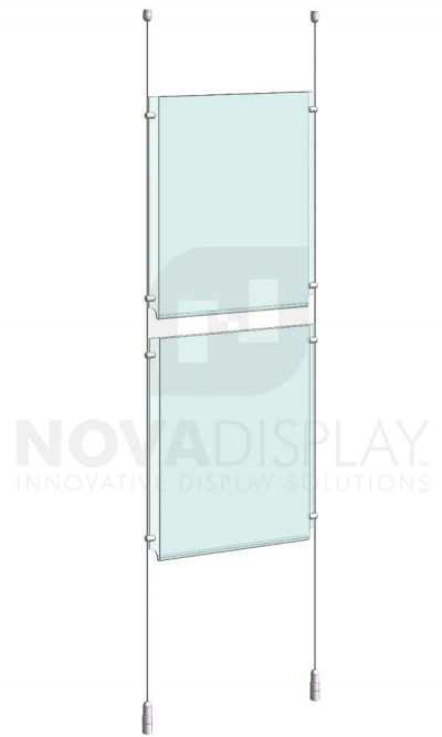 KPI-014_Easy-Access-Poster-Holder-Display-Kit-cable-suspended