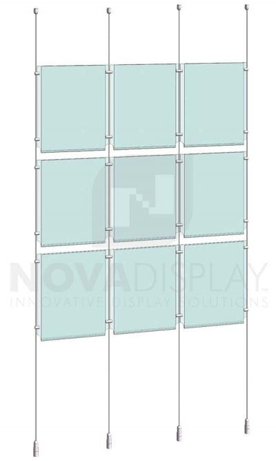 KPI-102_Easy-Access-Poster-Holder-Display-Kit-cable-suspended