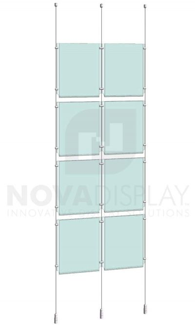 KPI-103_Easy-Access-Poster-Holder-Display-Kit-cable-suspended