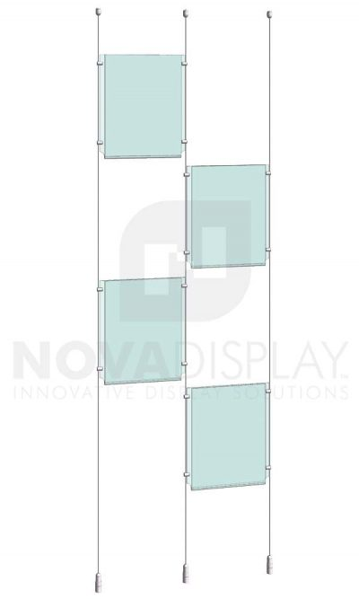 KPI-108_Easy-Access-Poster-Holder-Display-Kit-cable-suspended