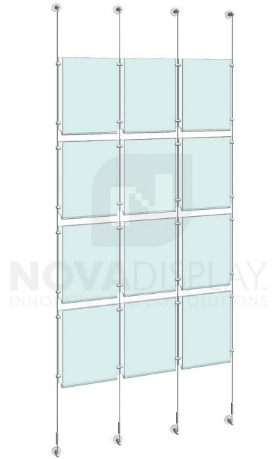 KPI-114_Easy-Access-Poster-Holder-Display-Kit-cable-suspended