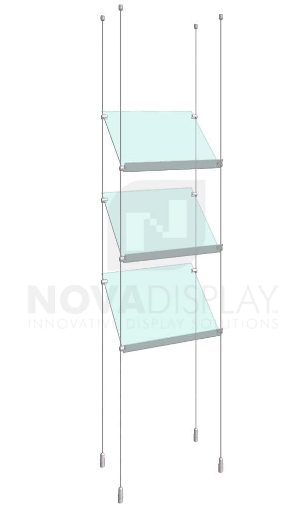 KSP-002_Acrylic-Sloped-Shelf-Display-Kit-cable-suspended