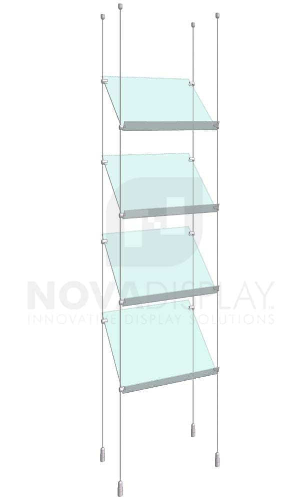 KSP-003_Acrylic-Sloped-Shelf-Display-Kit-cable-suspended