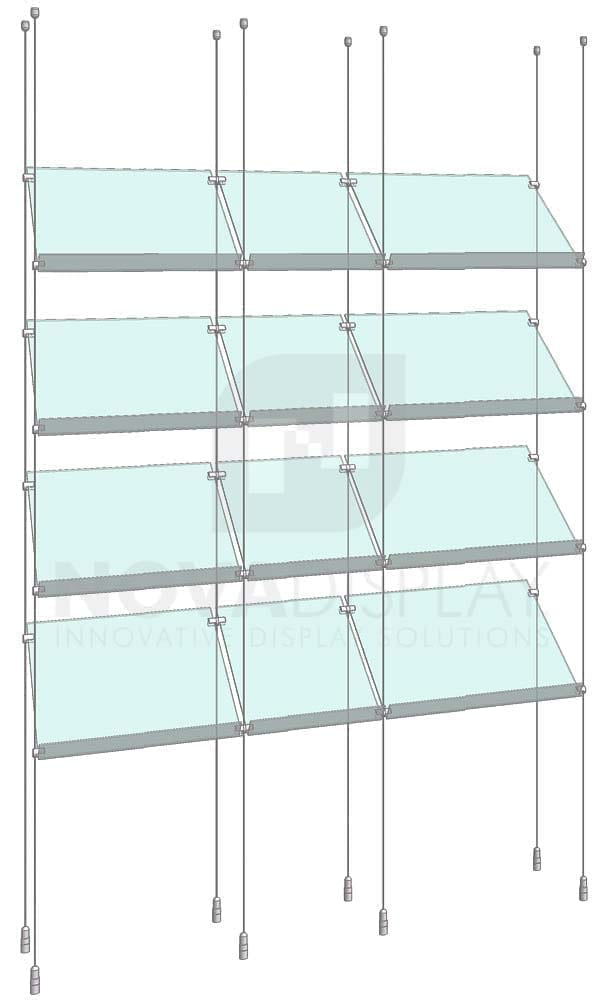 KSP-006_Acrylic-Sloped-Shelf-Display-Kit-cable-suspended