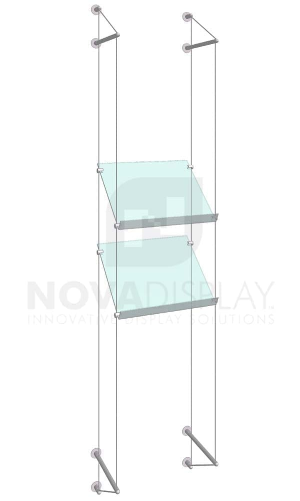 KSP-007_Acrylic-Sloped-Shelf-Display-Kit-wall-cable-suspended