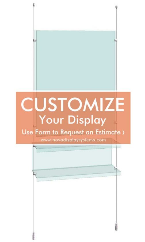 Cable-Rod-Suspended-Acrylic-Shelf-Display-Kit