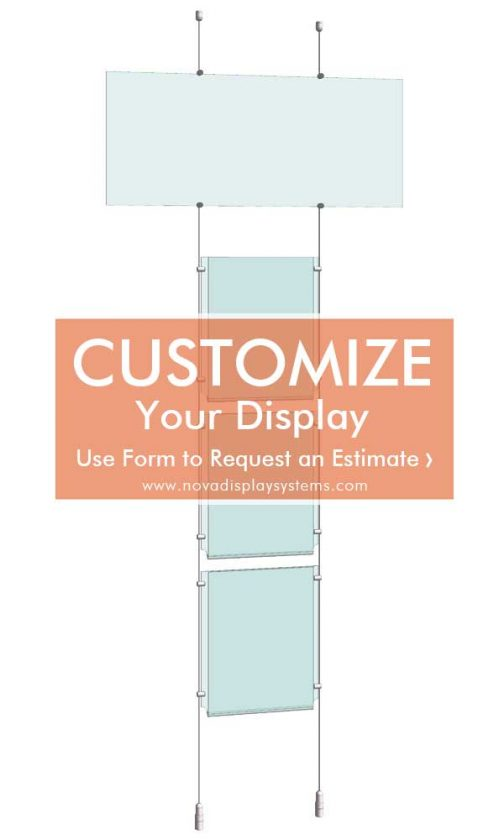 Cable-Suspended-Easy-Access-Acrylic-Poster-and-Logo-Info-Panel-Display-Kit