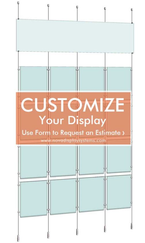Cable-Suspended-Easy-Access-Acrylic-Poster-and-Logo-Panel-Display-Kit