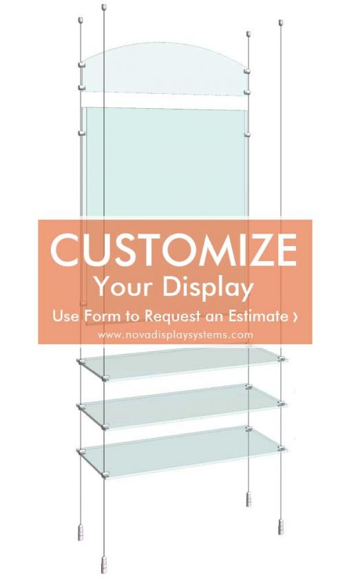 Cable-Suspended-Easy-Access-Poster-Display-Kit
