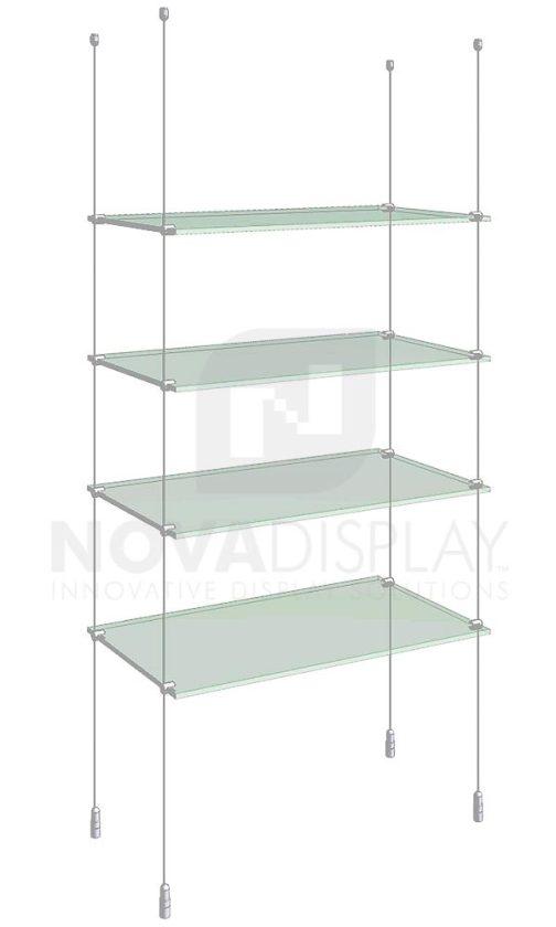 KSI-004_Acrylic-Glass-Shelf-Display-Kit-cable-suspended