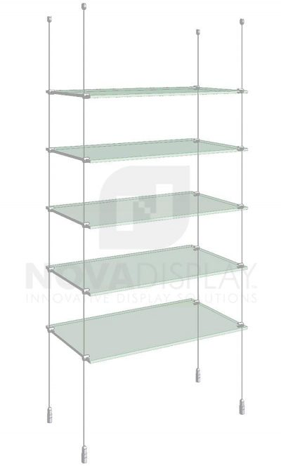 KSI-005_Acrylic-Glass-Shelf-Display-Kit-cable-suspended