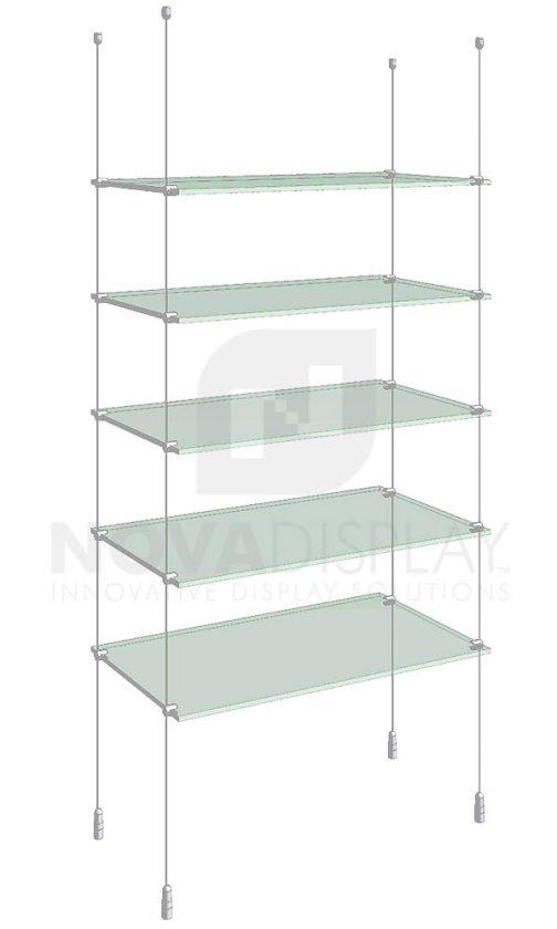 KSI-005_Acrylic-Glass-Shelf-Display-Kit-cable-suspended