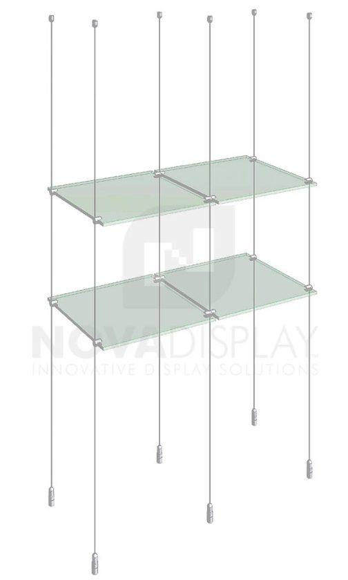 KSI-010_Acrylic-Glass-Shelf-Display-Kit-cable-suspended