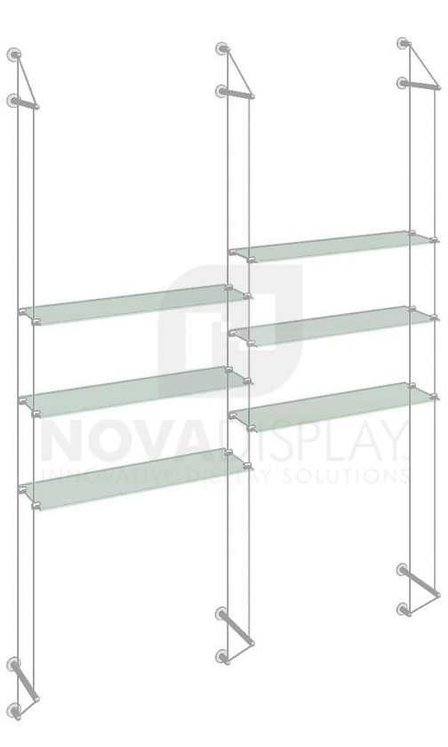 KSI-035_Acrylic-Glass-Shelf-Display-Kit-cable-suspended