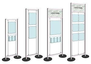 Versa-Module Display Stands