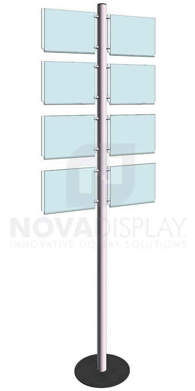 KFIP-002-Info-Post-Floor-Stand-Display-Kit