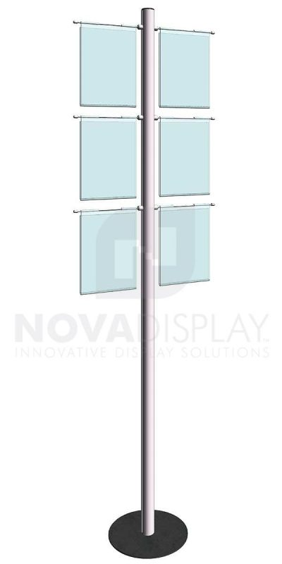 KFIP-004-Info-Post-Floor-Stand-Display-Kit