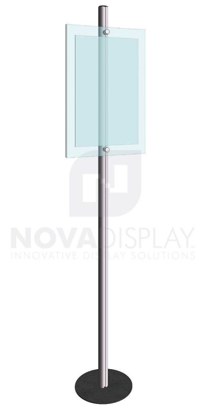 KFIP-008-Info-Post-Floor-Stand-Display-Kit