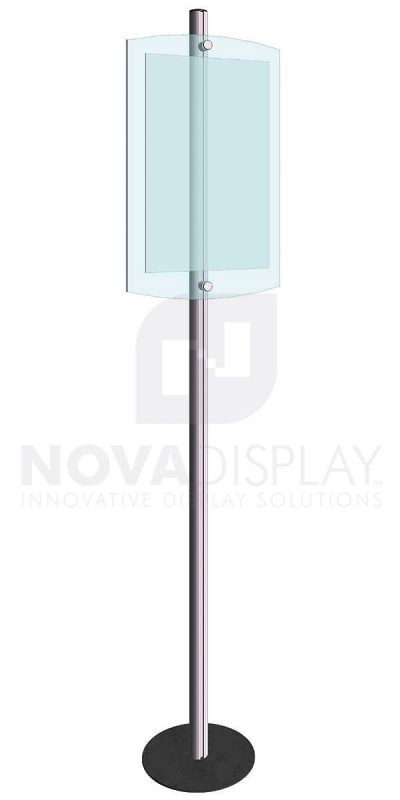KFIP-010-Info-Post-Floor-Stand-Display-Kit