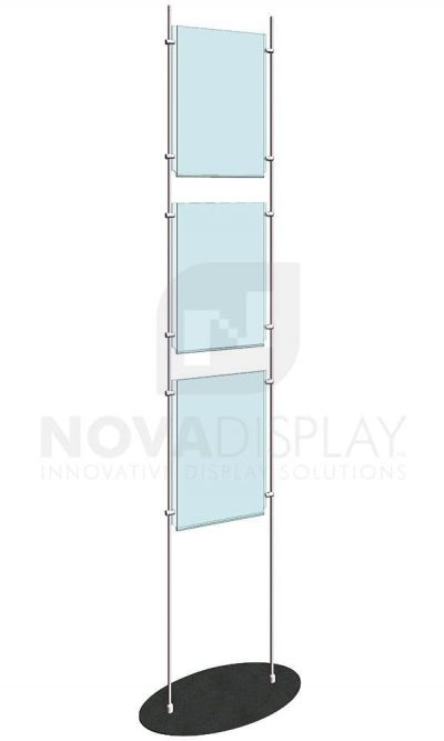KFRS-010-Totem-10mm-Rod-Floor-Stand-Display-Kit