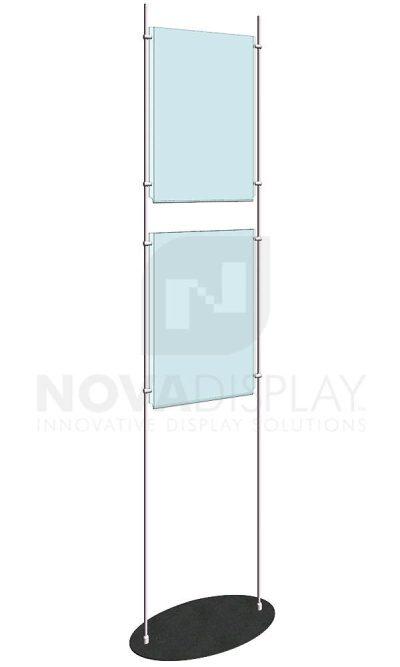 KFRS-015-Totem-10mm-Rod-Floor-Stand-Display-Kit