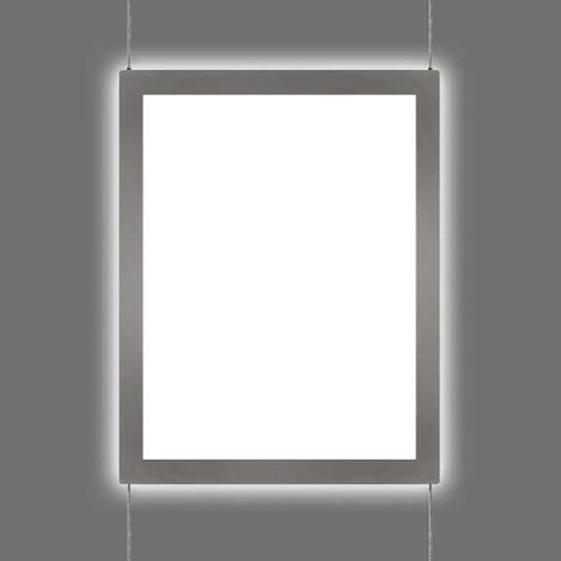 Cable Suspended Rimless LED Light Pockets