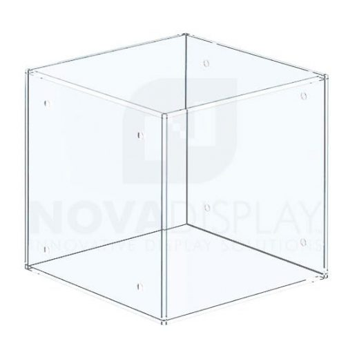 Non-Lit Acrylic Locking Display Case – All Clear