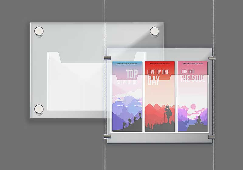 Nova Display Systems / Acrylic Literature Holders
