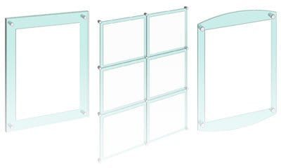 Acrylic Frameless Poster Display Kits