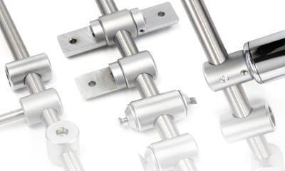 Specialty Supports for 10mm Rod Display Systems