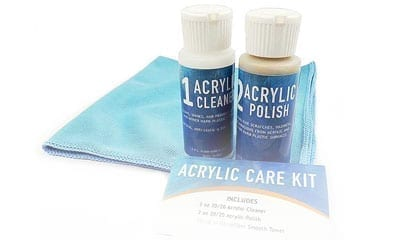 Acrylic Cleaning Kit & Clips