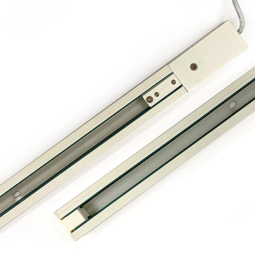 1M POWER TRACK — ALUMINUM RAIL FOR LED LIGHT POCKETS